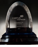 Cartus Commitment to Excellence Platinum Award 2017